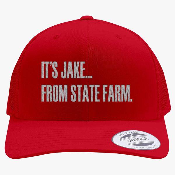 6aa6108f4ab It s Jake Retro Trucker Hat (Embroidered) - Customon