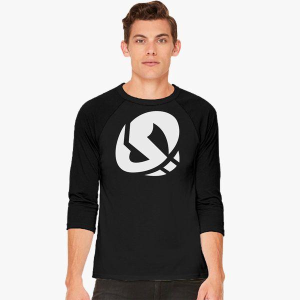 015711ef89df2a Team skull Baseball T-shirt - Customon