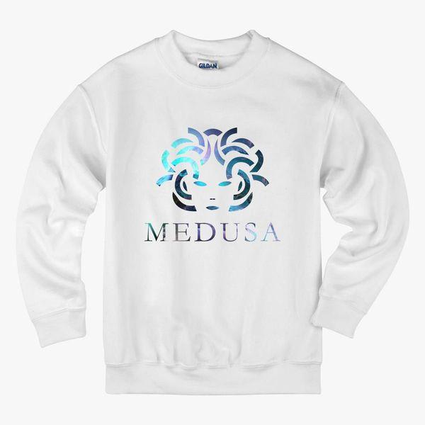 Medusa Logo Kids Sweatshirt - Customon