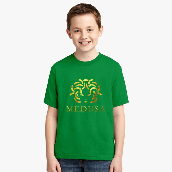 Design By Humans Medusa Monkey Version Girls Youth Graphic T Shirt