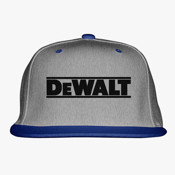a4f07c6d607e0 DeWALT Logo Snapback Hat - Customon