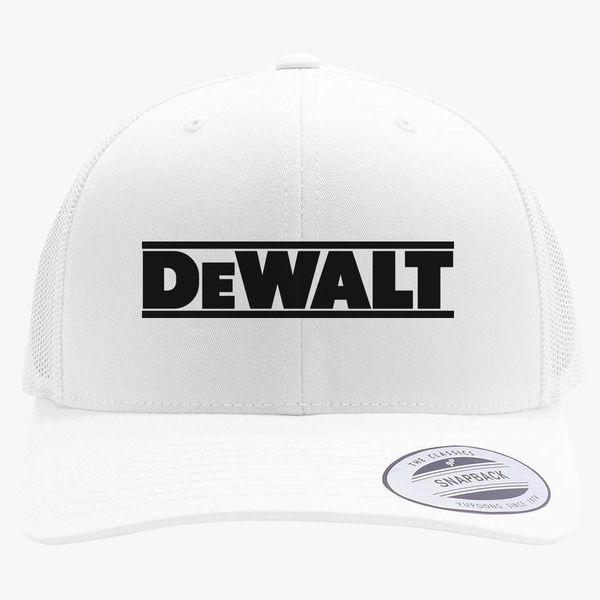 8254eca621c7a DeWALT Logo Retro Trucker Hat - Customon