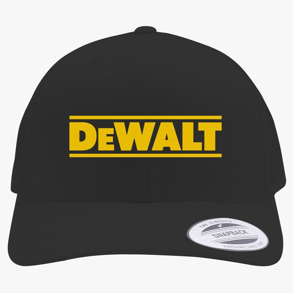 c84a39f24 DeWALT Logo Retro Trucker Hat - Customon