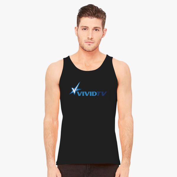 1e09abbff4d10 Vivid Tv Logo Men s Tank Top - Customon