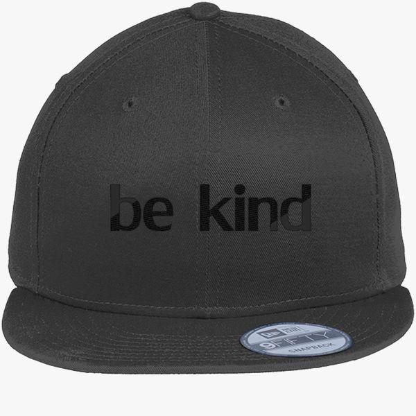 449f418e58a5b be kind New Era Snapback Cap (Embroidered) - Customon