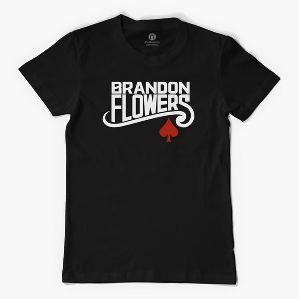 BRANDON FLOWERS FLAMINGO MENS T SHIRT