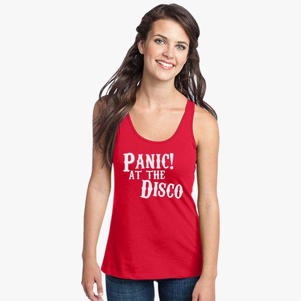 0464185c24ccb8 Panic at the Disco Women s Racerback Tank Top - Customon.com