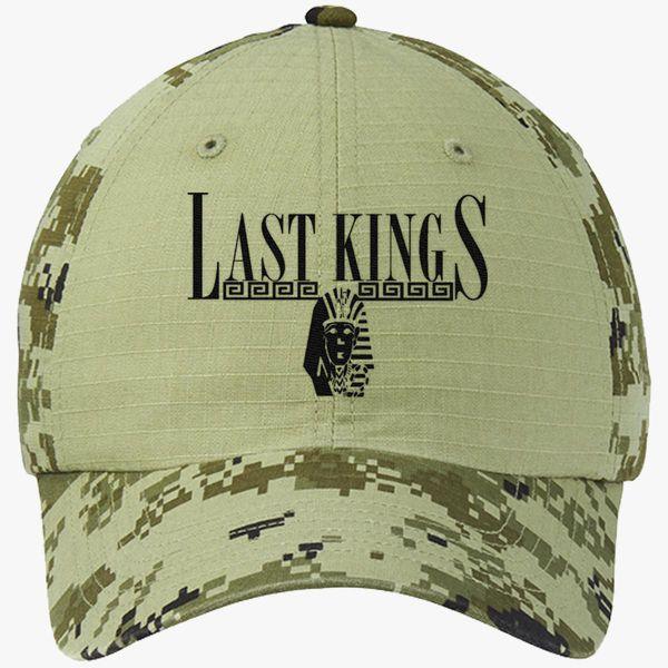 830865ab8 Tyga Last Kings Colorblock Camouflage Cotton Twill Cap (Embroidered) -  Customon