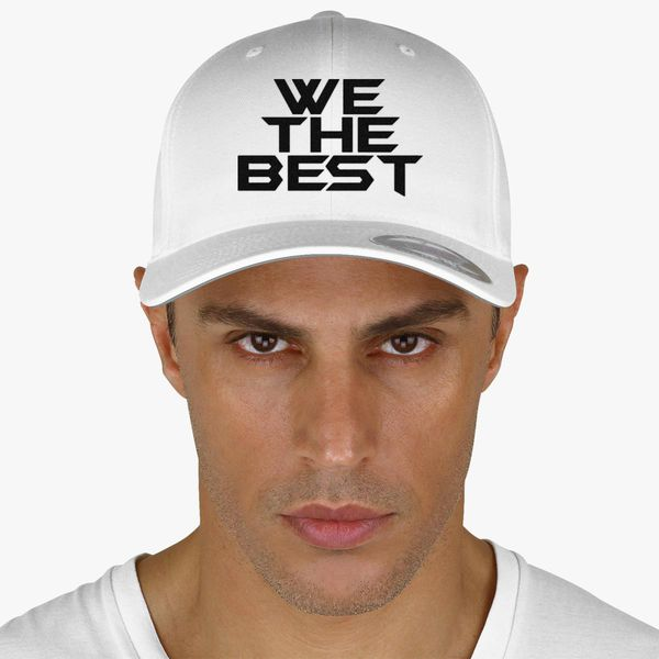 9749c63e21756 We The Best Baseball Cap (Embroidered) - Customon