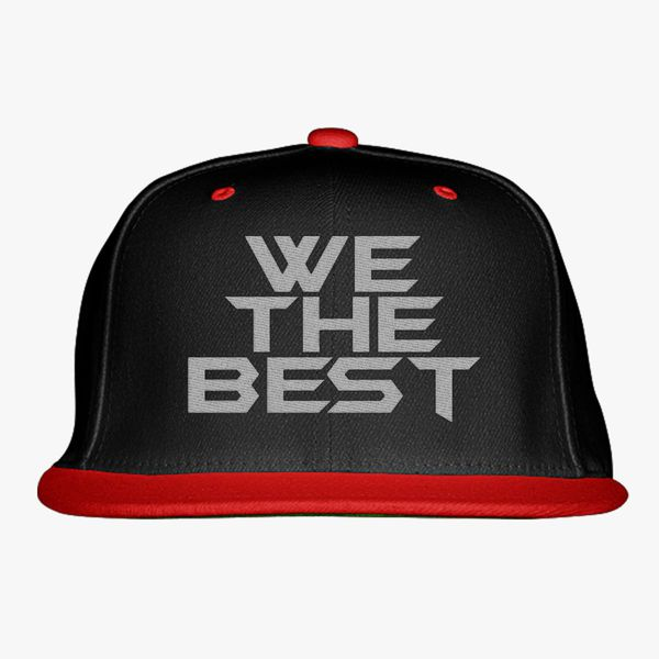 fda6c594f90d0 We The Best Snapback Hat (Embroidered) - Customon