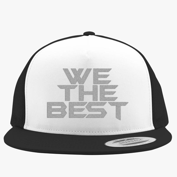 0074d4632e1bf We The Best Trucker Hat (Embroidered) - Customon