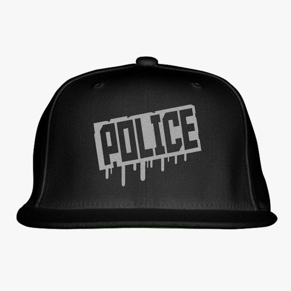 4ca2a75b5 Police Snapback Hat (Embroidered) - Customon