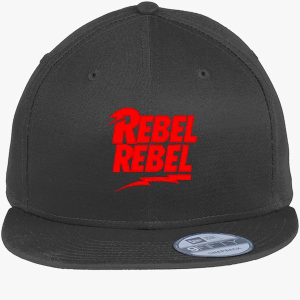 e3f3c3ce8e4c5a David Bowie Rebel Rebel New Era Snapback Cap (Embroidered ...