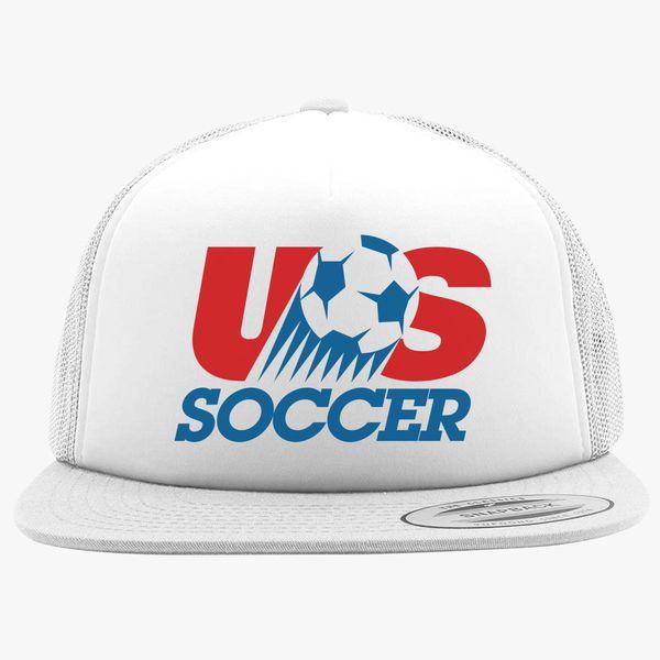 02f5605b826 USA Soccer Logo Foam Trucker Hat - Customon