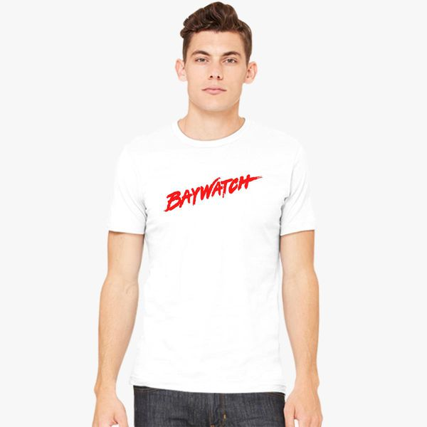 6bfd0e360e130 Baywatch Logo Men s T-shirt - Customon