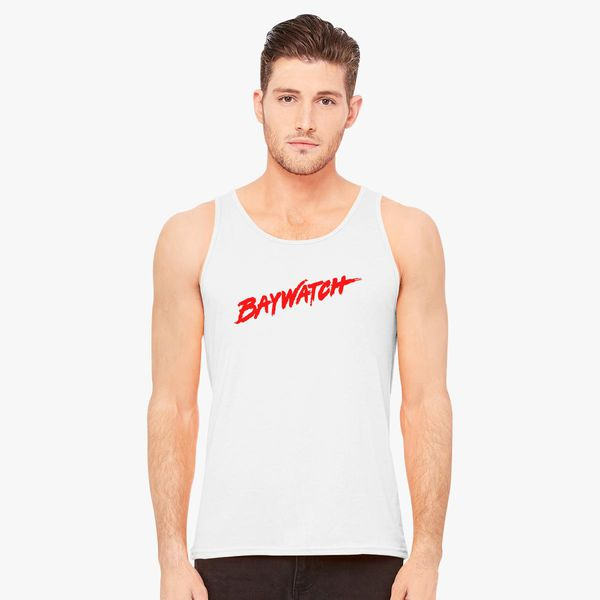 5aa4826977a15 Baywatch Logo Men s Tank Top - Customon