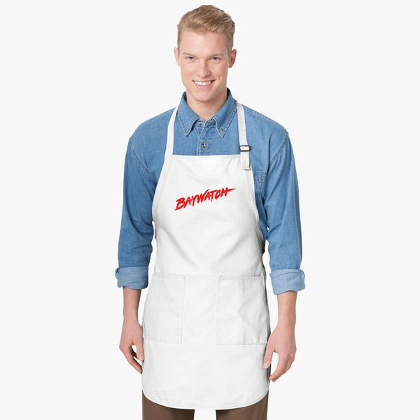 3987fdff08c56 Baywatch Logo Apron - Customon