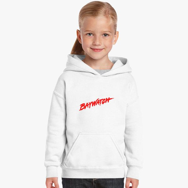 36cd36263c53e Baywatch Logo Kids Hoodie - Customon