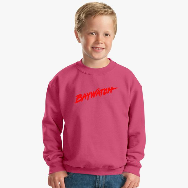 b03dd26165eb9 Baywatch Logo Kids Sweatshirt - Customon