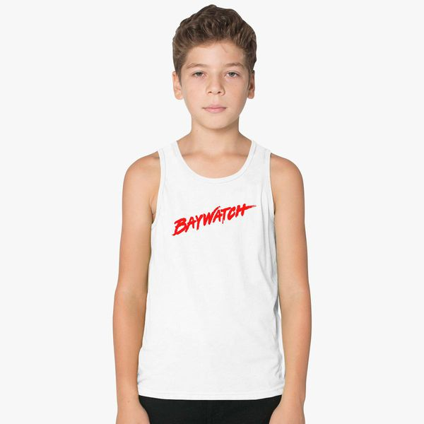 4d090519ebfb6 Baywatch Logo Kids Tank Top - Customon
