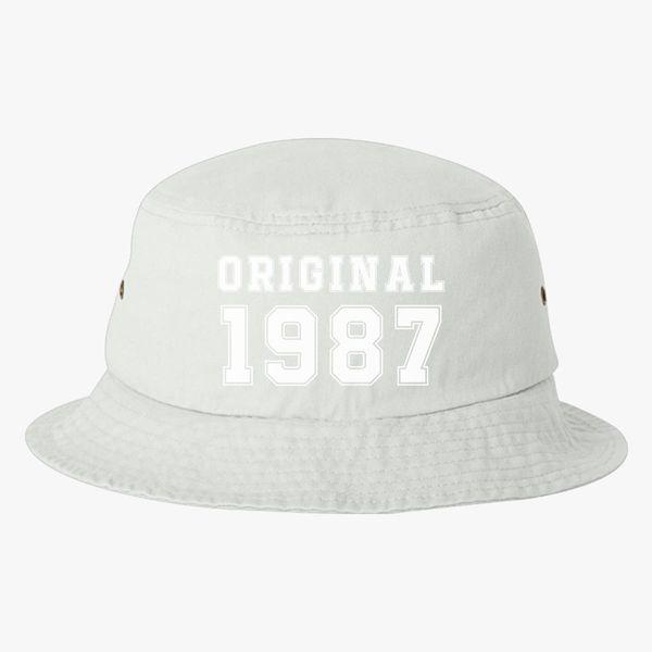 31st Birthday Bucket Hat Embroidered