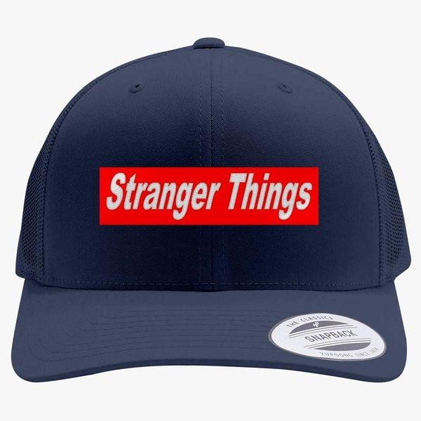 ea9d39bc14b stranger things Retro Trucker Hat (Embroidered) - Customon