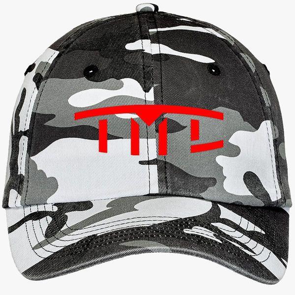 Tesla Motors Club >> Tesla Motors Club Camouflage Cotton Twill Cap Embroidered Customon