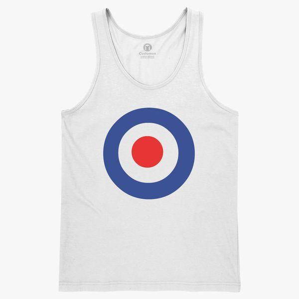 c2bf8101536e30 The Who Band Keith Moon s Target Logo Men s Tank Top - Customon