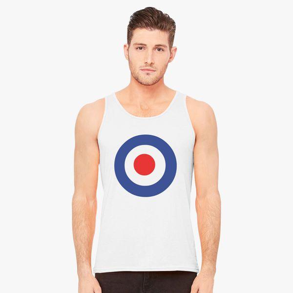 92c143ae81 The Who Band Keith Moon's Target Logo Men's Tank Top - Customon