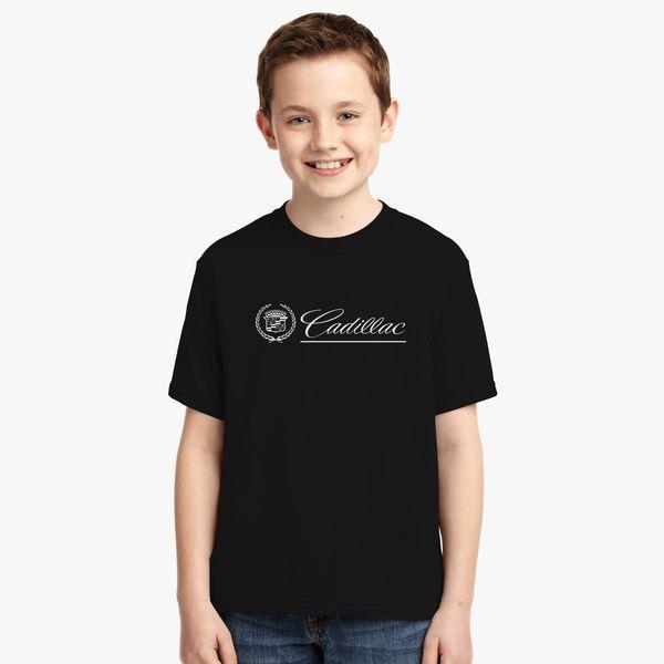 82b419ec15904 Cadilla Logo Youth T-shirt - Customon