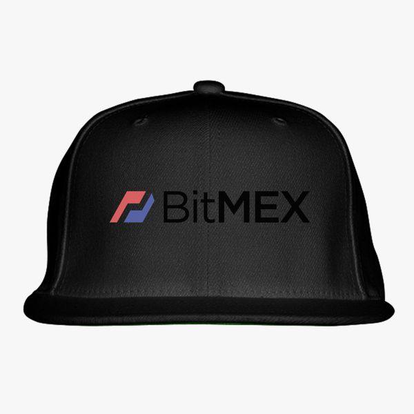 BitMex Logo Snapback Hat - Customon