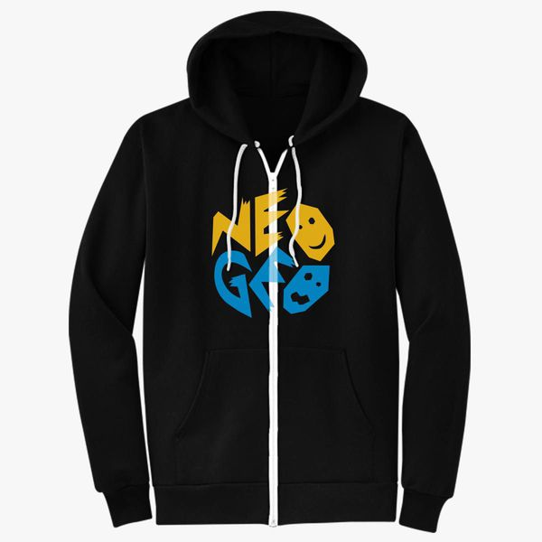 SNK NeoGeo Logo Unisex Zip-Up Hoodie - Customon