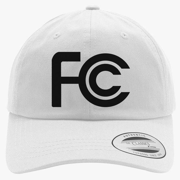 8f519e93 FCC Logo Cotton Twill Hat | Customon.com