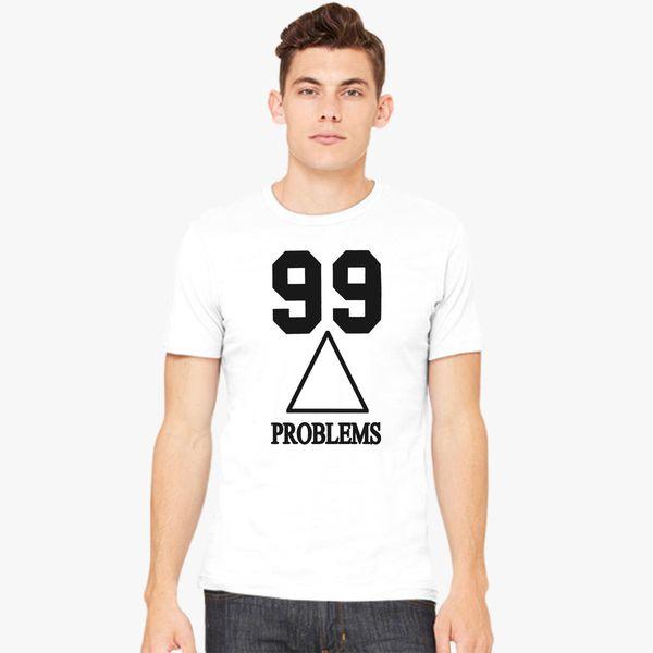 8b4c3b62bf928 les twins 99 problems Men s T-shirt - Customon