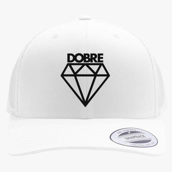 97a6641f87e7b Dobre brothers dobre twins Retro Trucker Hat (Embroidered ...