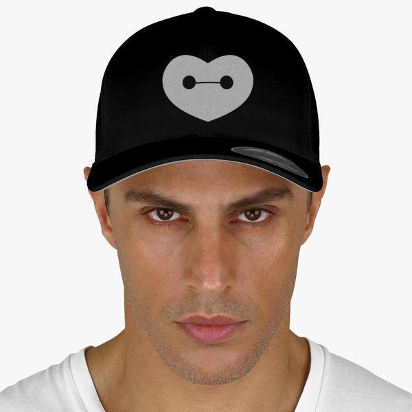 76a29497e7be9 Big Hero 6 - Baymax Shaped Heart Baseball Cap (Embroidered ...