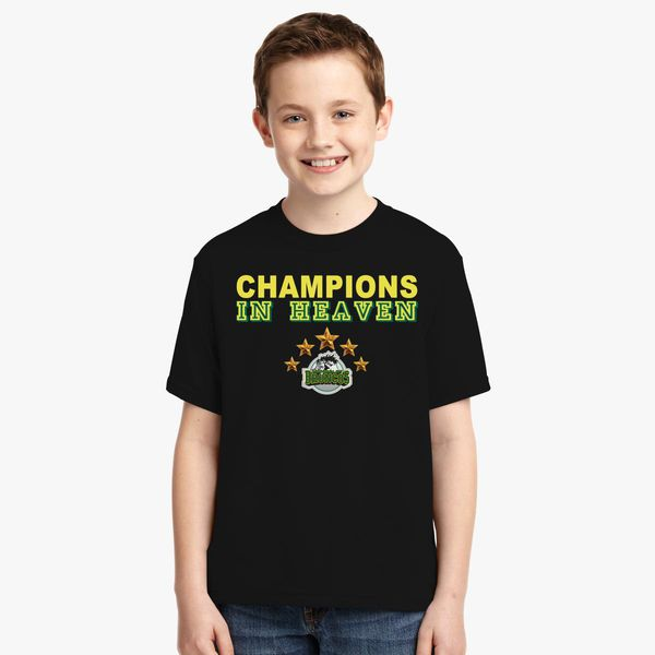 ed9a8f00 Humboldt Broncos Champions In Heaven Youth T-shirt - Customon
