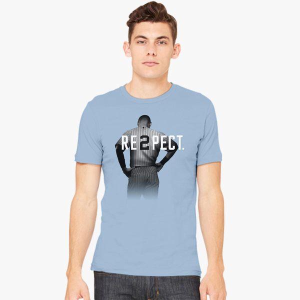 7ca35587f34 Respect Derek Jeter Men's T-shirt - Customon