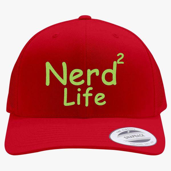 7b18bc884ac Nerd To Life Retro Trucker Hat (Embroidered) - Customon