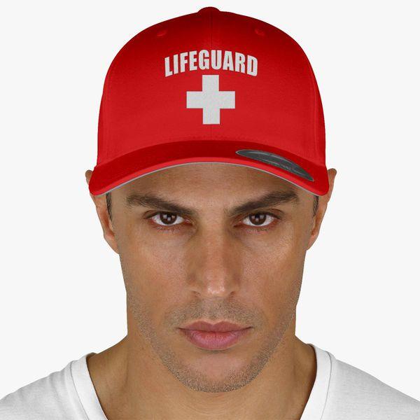 50765b247b2253 Lifeguard Baseball Cap (Embroidered) - Customon