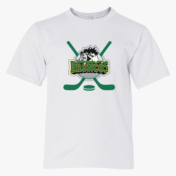 91a95c71 Humboldt Broncos Youth T-shirt - Customon