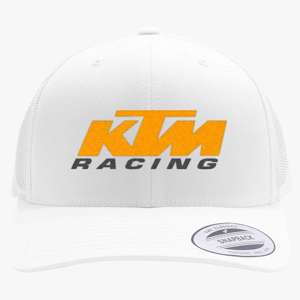 6a41b3ff315 Ktm Racing Retro Trucker Hat (Embroidered)