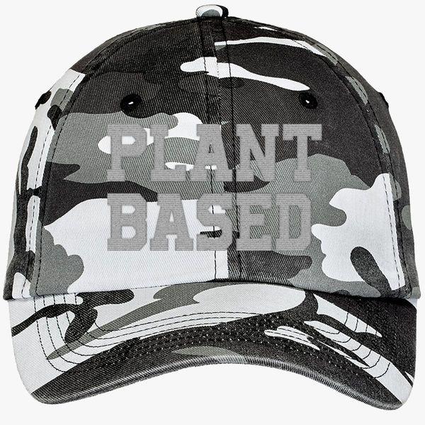 0bb9920c Plant Based Camouflage Cotton Twill Cap (Embroidered) - Customon