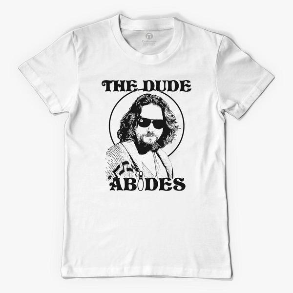 The Dude Abides The Big Lebowski Men S T Shirt Customon
