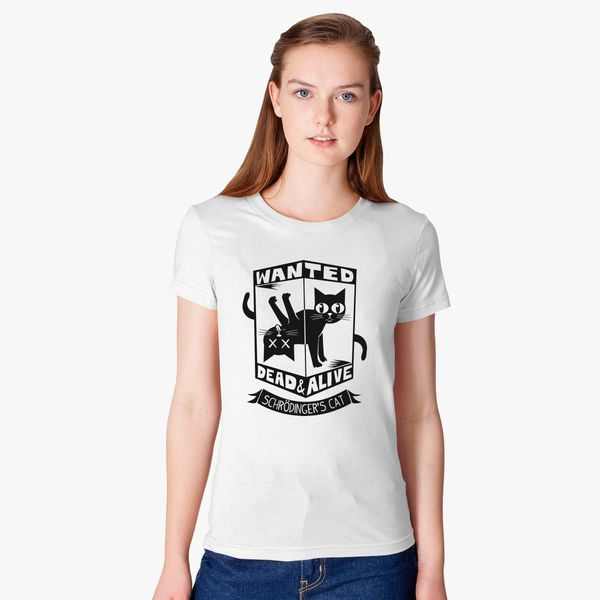 4f12a0be07 The Flash (Cisco s shirt) - Wanted Dead and Alive (Scrödinger s Cat)  Women s T-shirt