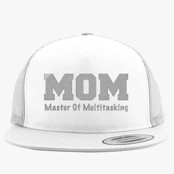 fb0e796ed8ceb Master of Multitasking MOTHER Trucker Hat (Embroidered) - Customon