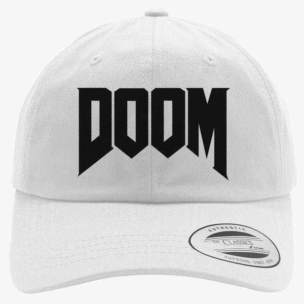 a03dcb35bea Doom Logo Cotton Twill Hat