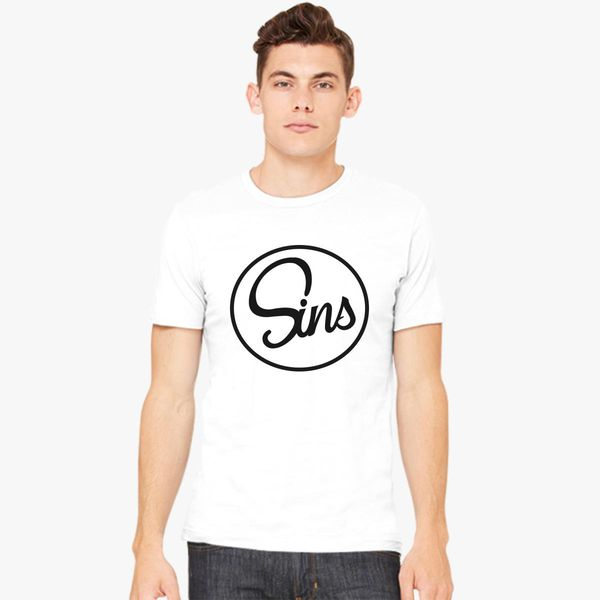 Sins - T-shirt Johnny Customon Men's Logo