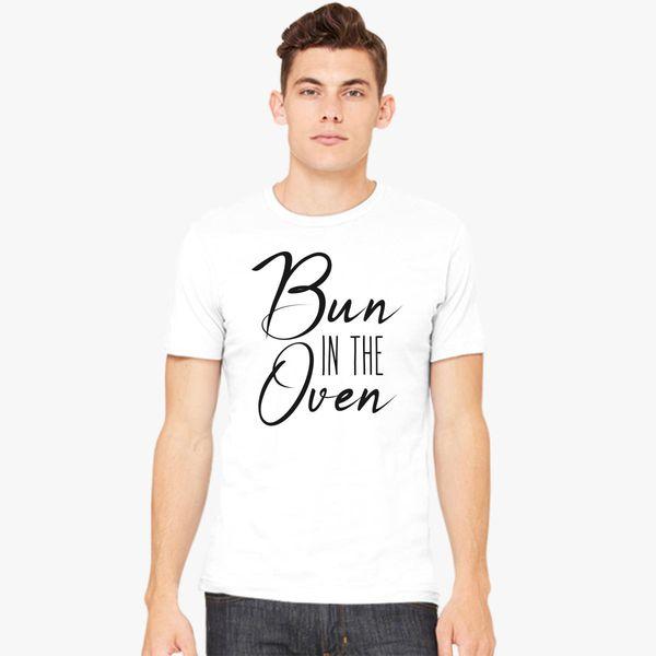 bun in the oven Men's T-shirt - Customon