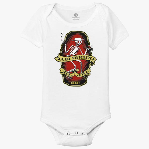 3ebc2f606 Social Distortion Baby Onesies - Customon